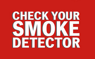 check your smoke detector