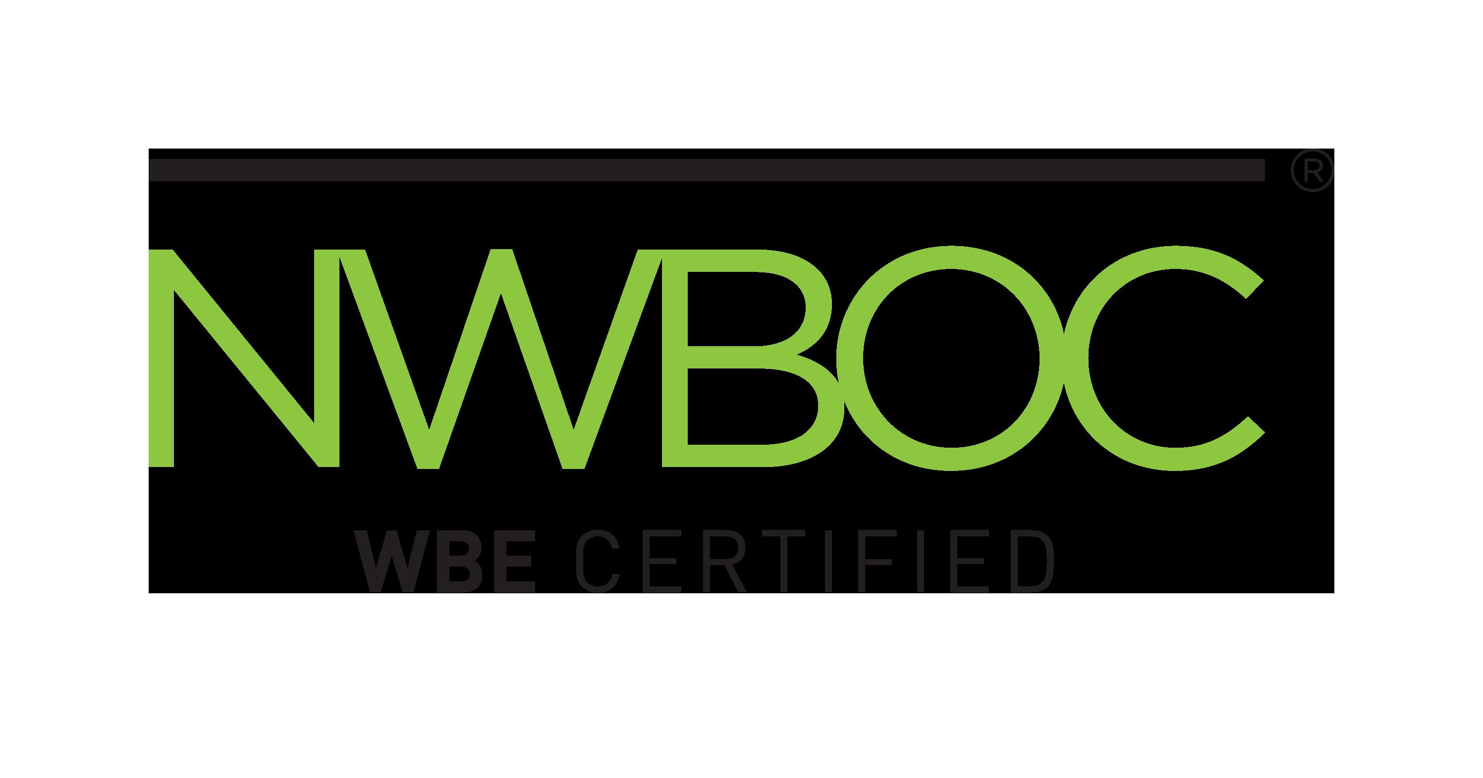 NWBOC WBE Certified logo
